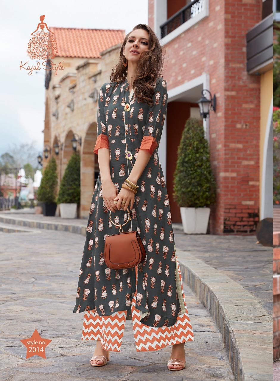 438acfc56e Kajal Style Printed Kurti Size L Online Shopping - Drooni.com