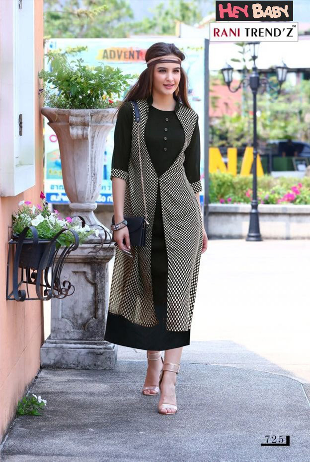 3bfc80bac068 Black Georgette XL Size Western Dress Online Shopping in Kerala - Drooni.com